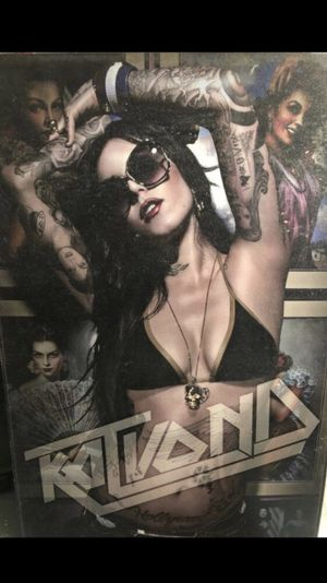 Free Kat Von D Painting for Sale in San Fernando, CA