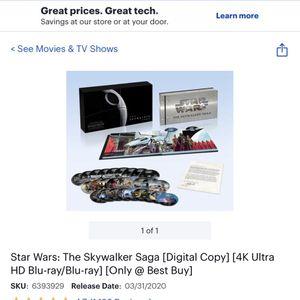 Star Wars Skywalks Saga Movie Collection for Sale in Buffalo, NY