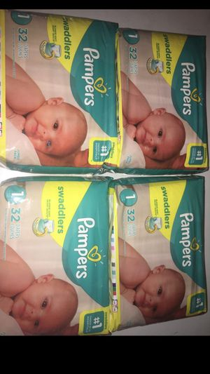 Pampers swaddlers size 1 for Sale in Phoenix, AZ
