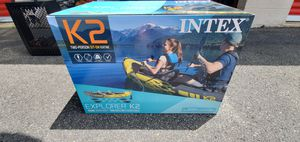Intex K2 Inflatable Kayak 2 Person for Sale in Annapolis, MD