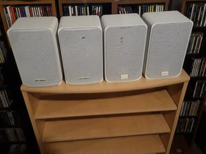 4 Optimus Book Shelf or Large Surround Speakers Home Audio for Sale in Overland, MO