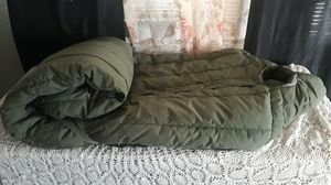 Warm, Thick Miltary sleeping bag for Sale in Las Vegas, NV