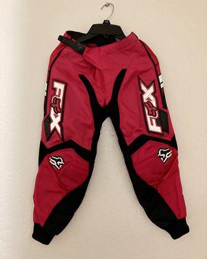 Fox Motorcycle Pants/kids for Sale in Anaheim, CA