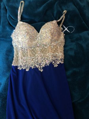 Royal blue prom dress for Sale in Fort Washington, MD