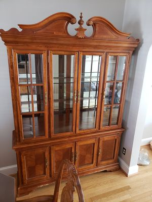 Two piece China Cabinet for Sale in Washington, DC