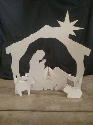 Silent Night Nativity Set for Sale in Evansville, IN