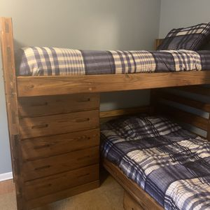 Bunk Beds By Barn Door for Sale in Cleveland, OH