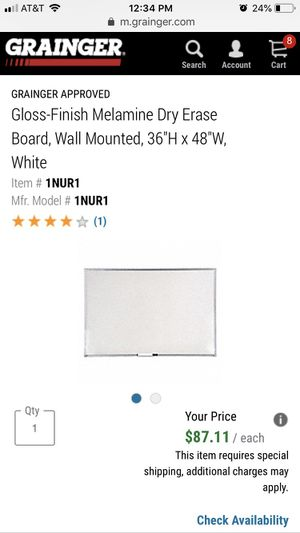 Dry Erase Board (New In Box) for Sale in Chicago, IL