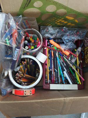 Box of school stuff for Sale in Lawndale, CA