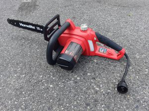"Homelight chainsaw, electric, 16"", 400mm for Sale in San Jose, CA"