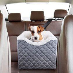 "Portable Dog Car Seat Safety Raised Asiento Portatil de Seguridad para Perro Beau Jardin 6"" for Sale in Miami,  FL"
