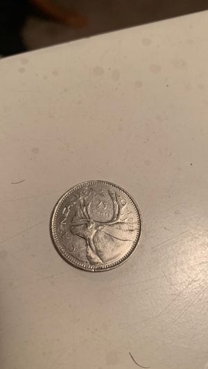 Moneda de 25 centavos Canadá cuánto ofrecen for Sale in Garland, TX