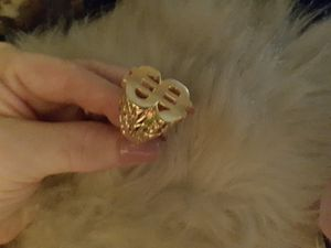 RING: $ With Nugget Sides Large Size 14 for Sale in Ladson, SC