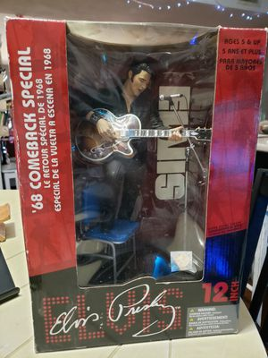 Elvis Presley 68 Comeback Special Action Figure Toy 12 inch McFarlane for Sale in Tempe, AZ