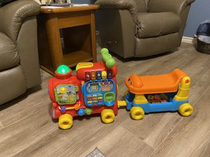 V-tech Sit to Stand Ultimate Alphabet Train for Sale in Glendale, AZ