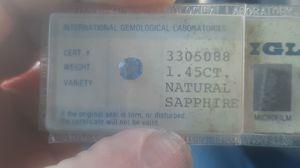 Blue Sapphire 1.45ct for Sale in Payson, AZ