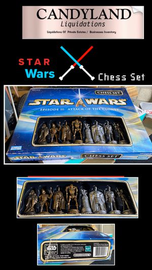 Star Wars Chess Set Sale for Sale in West Palm Beach, FL
