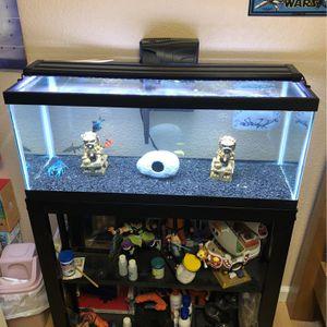 20 Gallon Long Fish Tank for Sale in Elk Grove, CA