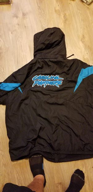 Panthers Reebok Jacket size 4x for Sale in Scottsdale, AZ