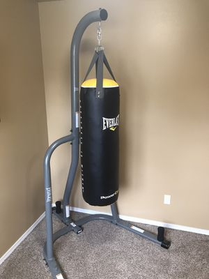 Everlast Punching Bag for Sale in Wenatchee, WA