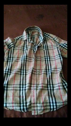 BurBerry Shirt xL for Sale in High Point, NC