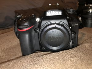 Nikon D7200 with Lenses for Sale in Manassas, VA