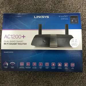 AC1200+ Dual-Band Smart Wi-Fi Gigabit Router Linksys for Sale in Tempe, AZ