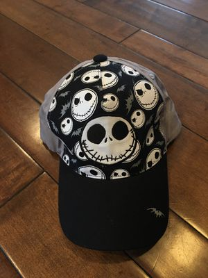 NEW- adult fitted baseball cap Jack Skellington / nightmare before Christmas for Sale in Tustin, CA