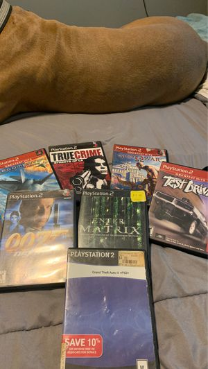 Ps2 games all for 10 for Sale in Baldwin Park, CA