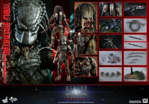 Hot Toys 1/6 Alien vs Predator Requiem Wolf Predator Heavy Weaponry Sixth Scale Figure MMS443 for Sale in Brambleton, VA