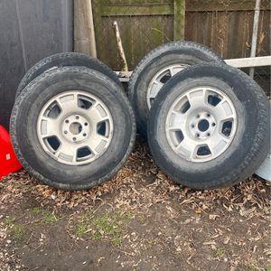 Silverado Rims 6 Lug for Sale in Detroit, MI