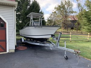 1997 Center Console Palm beach Boat trailer included for Sale in Warrington, PA