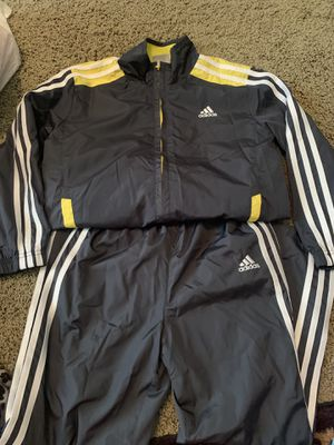 Kids Adidas Track Suit Set (Size youth 7) for Sale in Woodland, CA