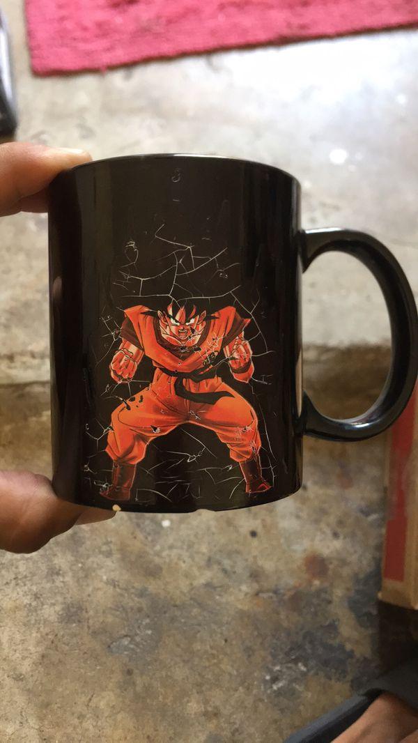 Dragonball Z Color Changing Mug