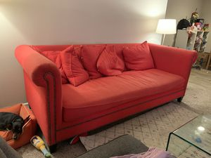 Red Sofa for Sale in Raleigh, NC