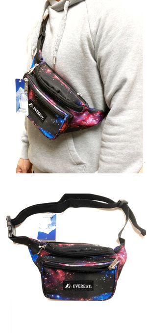 Brand NEW! Galaxy/Space Waist/Shoulder/Crossbody/Side Bag/Pouch/Fanny Pack For Everyday Use/Traveling/Biking/Jogging/Gifts $9 for Sale in Carson, CA