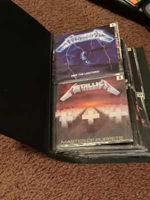 CD lot of 150 discs Rock,Hard rock, and metal. All headline bands and everything in between for Sale in Rock Hill, SC