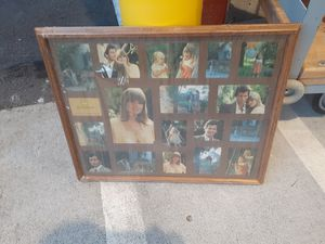 Collage in beautiful wood frame for Sale in Tumwater, WA