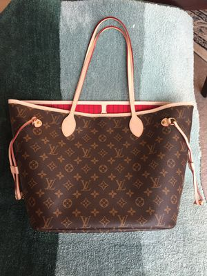 Louis Vuitton LV Monogram neverfull MM Bag Purse Handbag for Sale in Chicago, IL