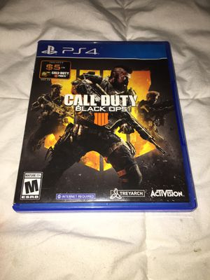Call of Duty Black Ops 4 for Sale in Tyler, TX