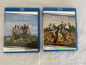 Weeds Blu Ray Season 1-2 (Used) for Sale in Fresno, CA