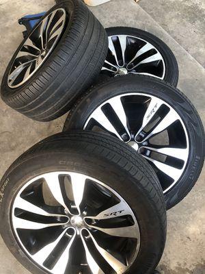 SRT Rims & tires for sale for Sale in Brandywine, MD