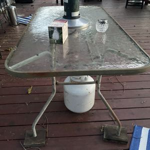 Glass Patio Table for Sale in Hayward, CA