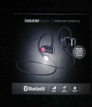 Sound Aura Bluetooth earbuds for Sale in Calumet City, IL