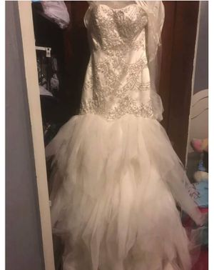 Mermaid fit wedding dress for Sale in Pittsburgh, PA