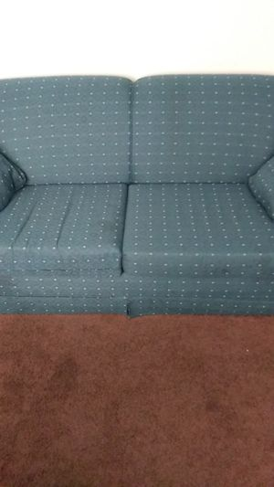 Couch with foldable bed for Sale in Perrysburg, OH