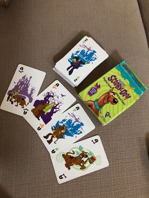 Vintage Scooby Doo playing cards for Sale in SANTA RSA BCH, FL