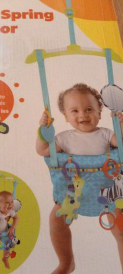 Bright Starts Bounce 'N Spring Deluxe Door Jumper For Babies Up To 26lbs for Sale in Henderson,  NV