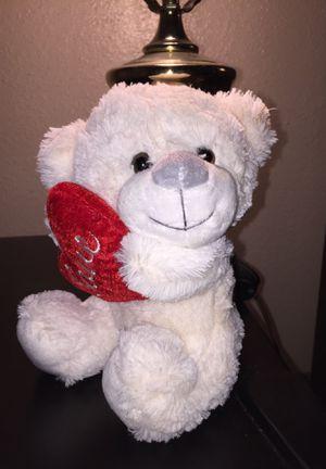 Stuffed Love Heart Bear 🐻 for Sale in Houston, TX