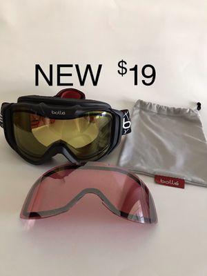 Bolle Goggles 2 Lenses Snow Ski Snowboard Anti-Fog for Sale in San Clemente, CA